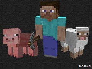 Screengrab of Minecraft