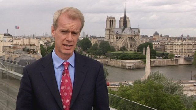 Stephen Sackur hosts the BBC World Debate from Paris