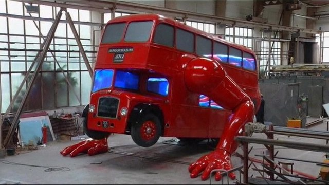 David Cerny's bus