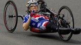 British handcyclist Karen Darke