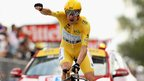 Bradley Wiggins wins stage 19