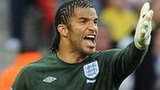 David James at the 2010 World Cup with England
