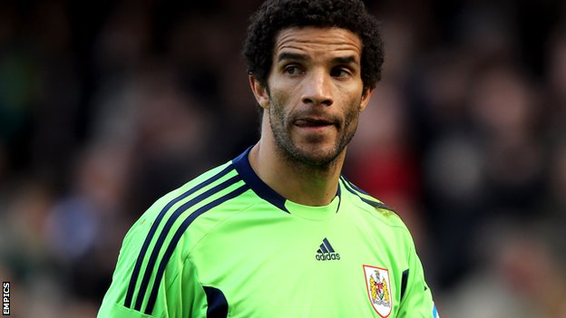 David James played 84 times in two seasons at Bristol City
