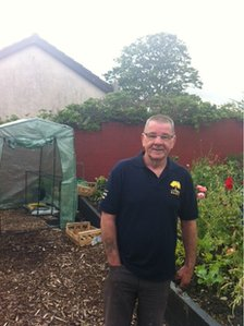 "64-year-old Banty Nash became a ""hermit"" after being diagnosed with an illness. He says the community garden has brought him back to the person he was ""45 years ago"""