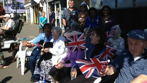 Residents from Bupa Fieldway Nursing Home