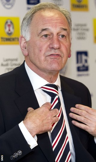 Green insists that Sevco is not interested in selling control to anybody
