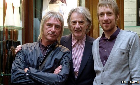 Paul Weller, Sir Paul Smith and Bradley Wiggins