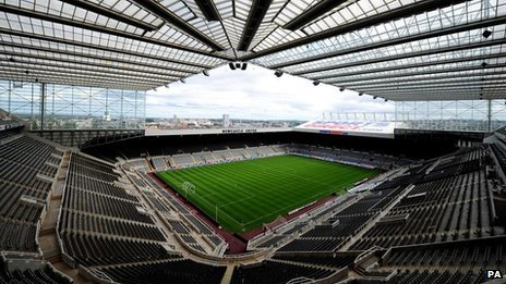 Newcastle Utd's stadium
