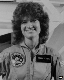 File photo of Nasa astronaut Sally Ride
