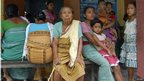 Displaced tribal people take shelter in a relief camp near Kokorajhar town in the northeastern Indian state of Assam July 22, 2012