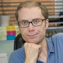 Stephen Merchant as Darren Lamb in Extras