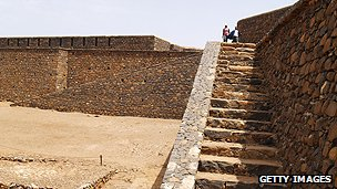 Cidade Velha on Cape Verde