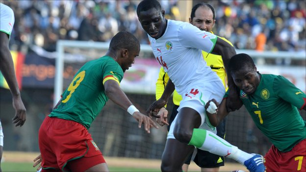 Senegal&#039;s Mohamed Diame 