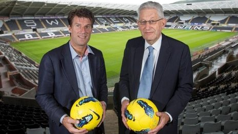 Michael Laudrup and Prof Richard B Davies