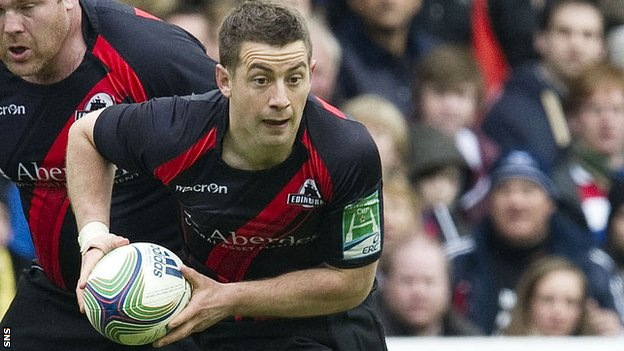 Edinburgh captain Greig Laidlaw
