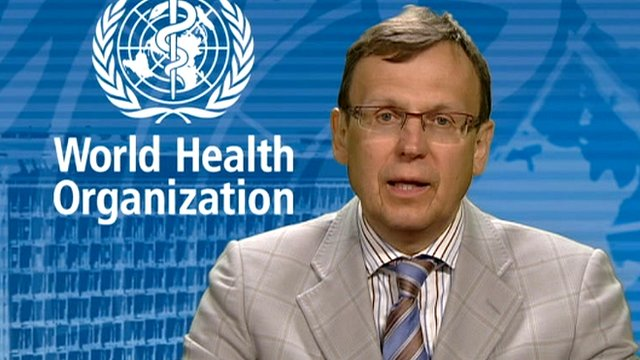Dr Mario Raviglione of the World Health Organization