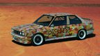 Michael Jagamara Nelson, Art Car, 1989 - M3 group-A racing version