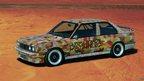 Michael Jagamara Nelson, Art Car, 1989 - M3 group-A racing version