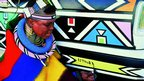 Esther Mahlangu, Art Car, 1992 - 525i