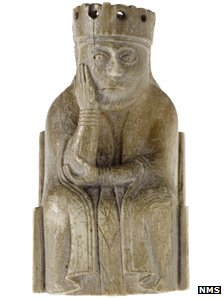 Queen from Lewis Chessmen pieces