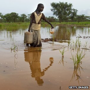 South Sudan flooding