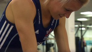 Hockey player Alex Danson