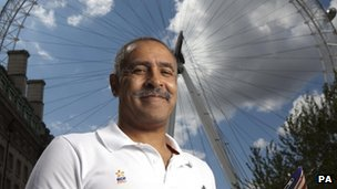 Daley Thompson in London