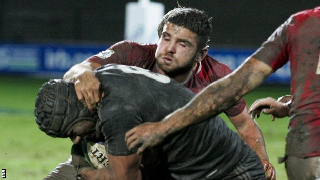 Wales Under-20s captain Kirby Myhill is one of a crop of emerging Scarlets forwards