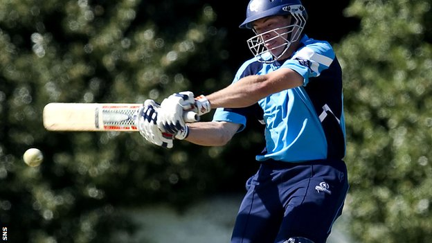 Berrington's 100 set Scotland up for the victory
