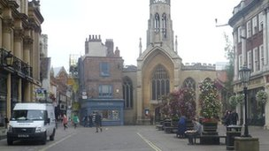 Centre of York