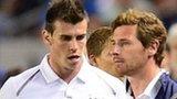 Gareth Bale (left)