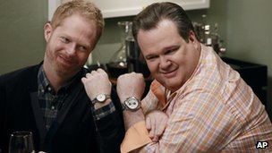 Modern Family stars Jesse Tyler Ferguson and Eric Stonestreet 