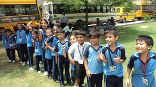 Khaitan pupils having fun!