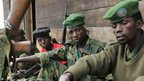 Rebels 'under attack' in DR Congo