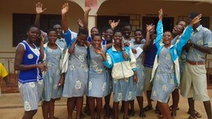 Pupils at Asesawa School!