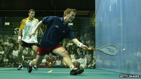 National Squash Centre during the 2002 Commonwealth Games