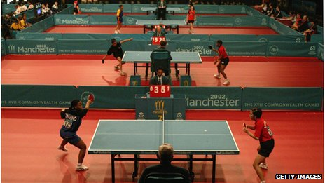 Table Tennis Centre during the 2002 Commonwealth Games