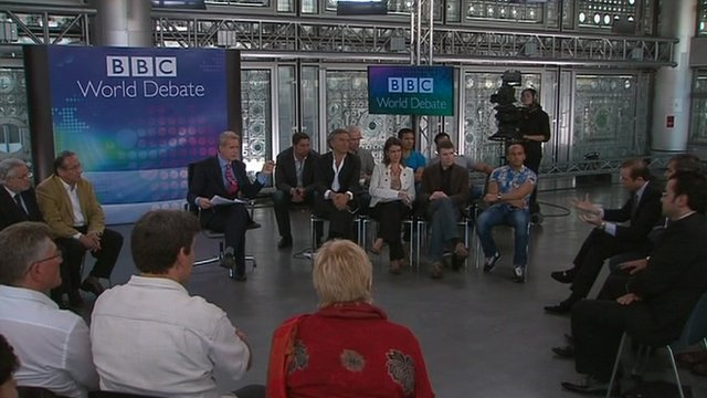 The BBC World Debate