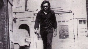 Singer-songwriter Sixto Rodriguez