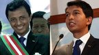 Madagascar rivals meet for talks