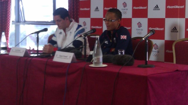 TeamGB coach Hope Powell