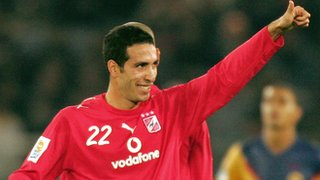 Egyptian playmaker Mohamed Aboutrika