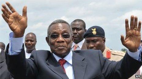 John Atta Mills (24 July 2009)