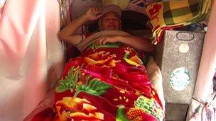Chen Guanming istirahat