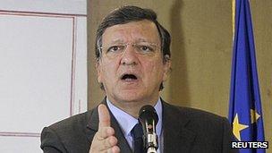 EU Commission President Jose Manuel Barroso (file pic)