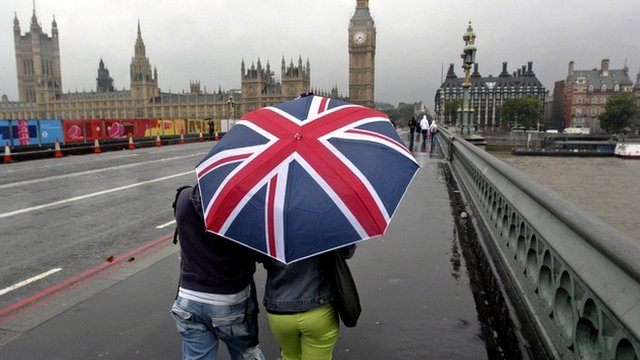 Union flag umbrella