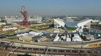 View of the Olympic Park, Stratford, London