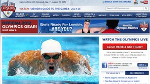 NBC Olympics website