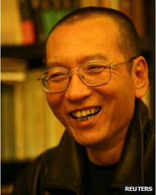 Chinese dissident Liu Xiaobo is seen in this undated photo released by his family on 3 October, 2010