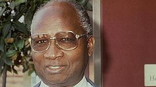 Gambian ex-prime minister Dawda Jawara